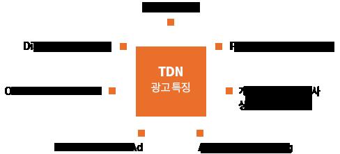 TDN 광고 특징